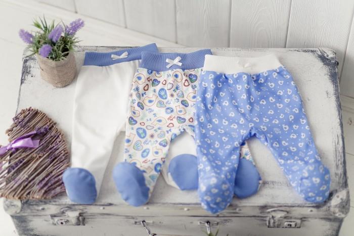Детская одежда , Ползунки Lucky Child Комплект детский Ползунки 3 шт. Лаванда арт: 456301 -  Ползунки