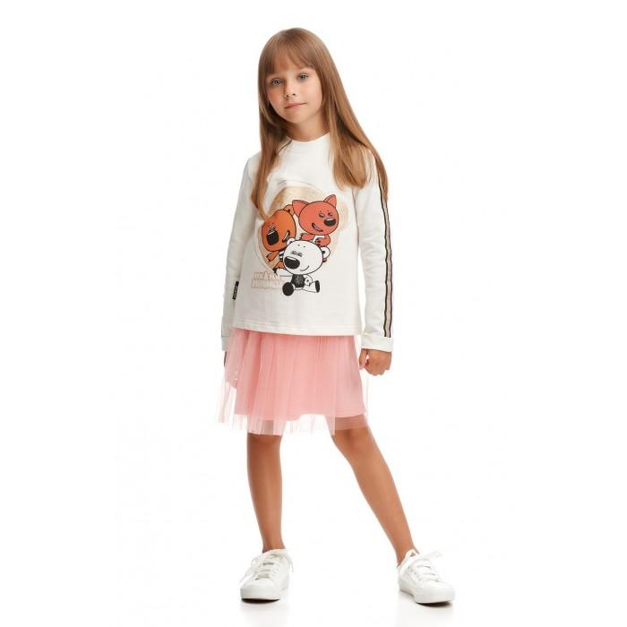 Lucky Child Комплект для девочки (платье, толстовка) Ми-Ми-Мишки