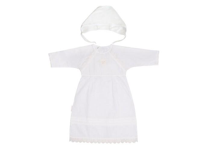Lucky Child Комплект для мальчика (крестильная рубашка, чепчик) Комплект для мальчика (крестильная рубашка, чепчик)