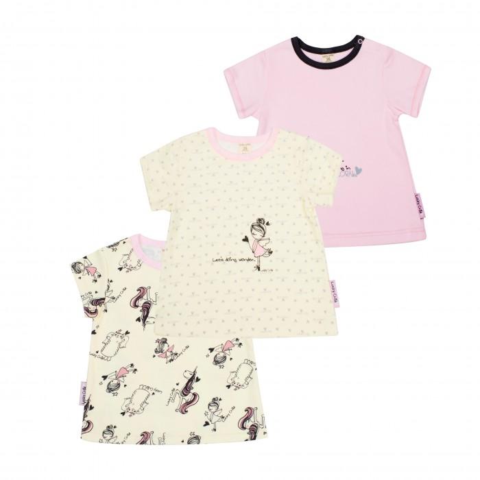 Детская одежда , Футболки и топы Lucky Child Комплект футболок Феечки 3 шт. 30-198 арт: 397424 -  Футболки и топы