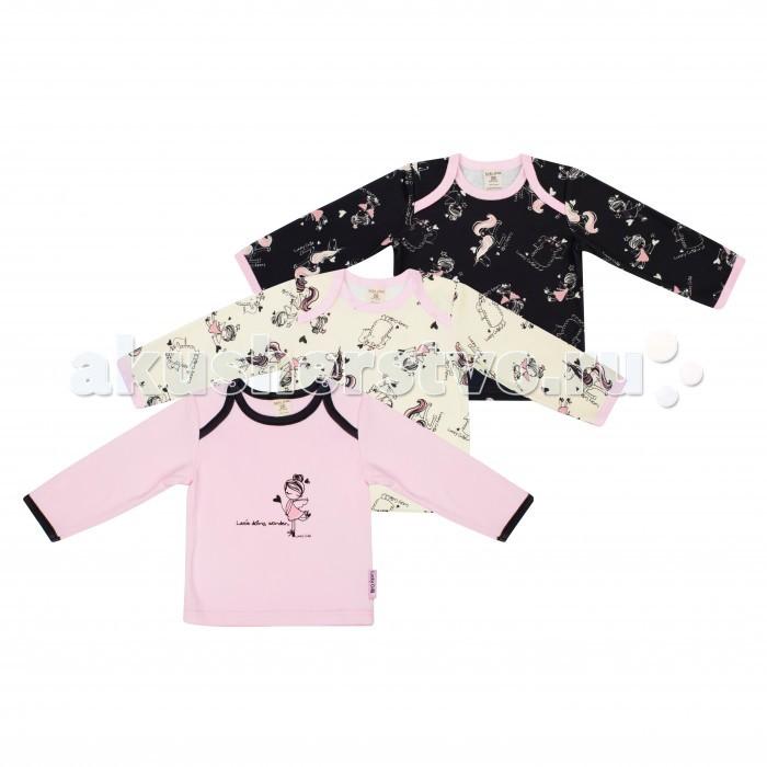 Распашонки и кофточки Lucky Child Комплект кофточек Феечки 3 шт. 30-196 пижамы lucky child пижама