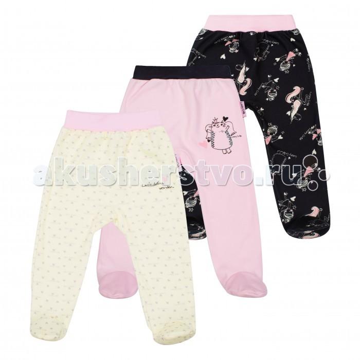 Ползунки Lucky Child Комплект ползунков Феечки 3 шт. 30-194 пижамы lucky child пижама