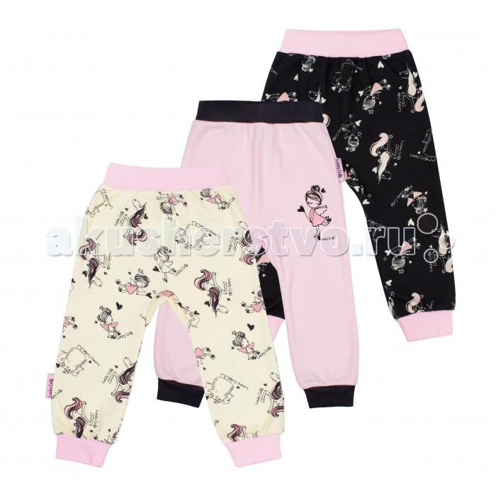 Брюки, джинсы и штанишки Lucky Child Комплект штанишек Феечки 3 шт. 30-199 lucky child комплект кофточек котики 3 штуки