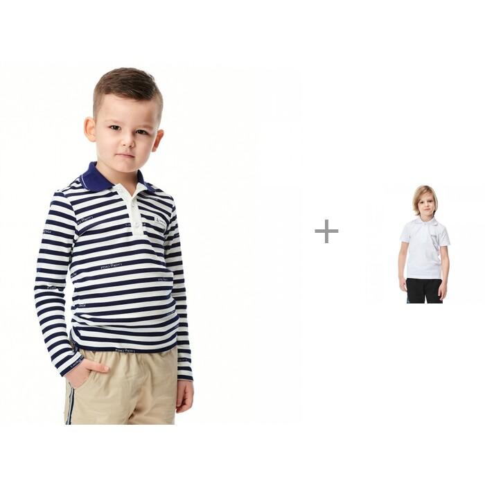 Lucky Child Лонгслив 79-39 и футболка 79-40 для мальчика Полоска Круиз