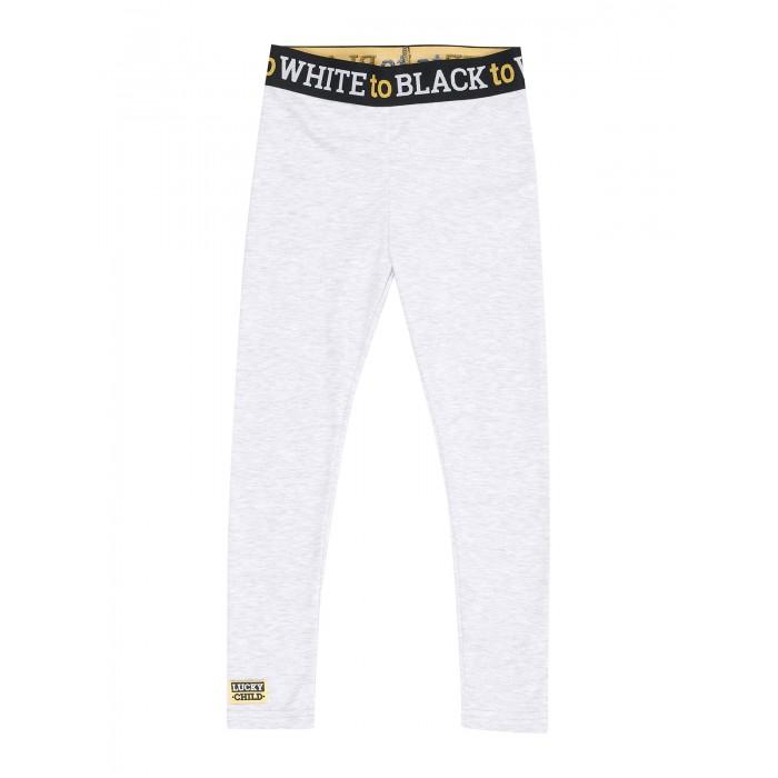 Lucky Child Лосины Черное и белое 107-112