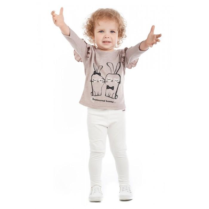 Брюки и джинсы Lucky Child Лосины для девочки Amore girl