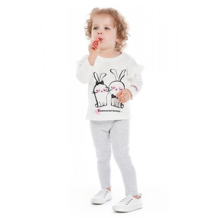 Брюки, джинсы и штанишки Lucky Child Лосины для девочки Amore girl