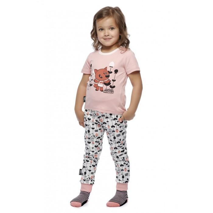 Lucky Child Пижама детская Ми-Ми-Мишки 69-405/роз