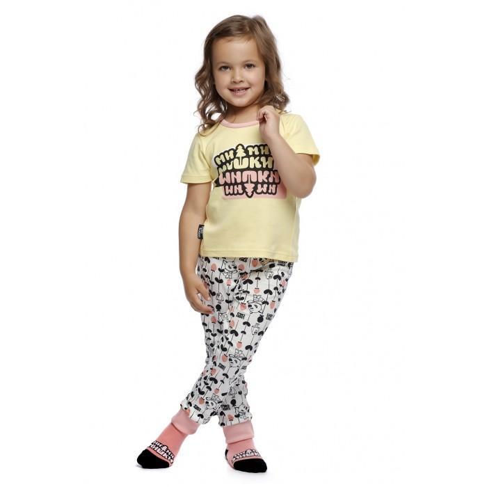 Lucky Child Пижама детская Ми-Ми-Мишки 69-405/жёлт