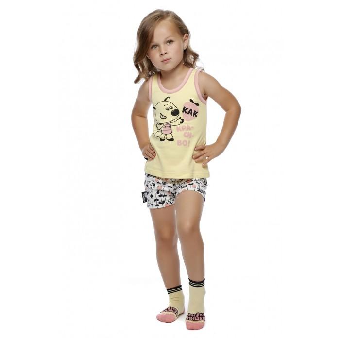 Lucky Child Пижама детская Ми-Ми-Мишки 69-412/жёлт