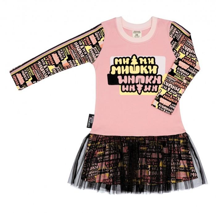 Lucky Child Платье детское Ми-Ми-Мишки
