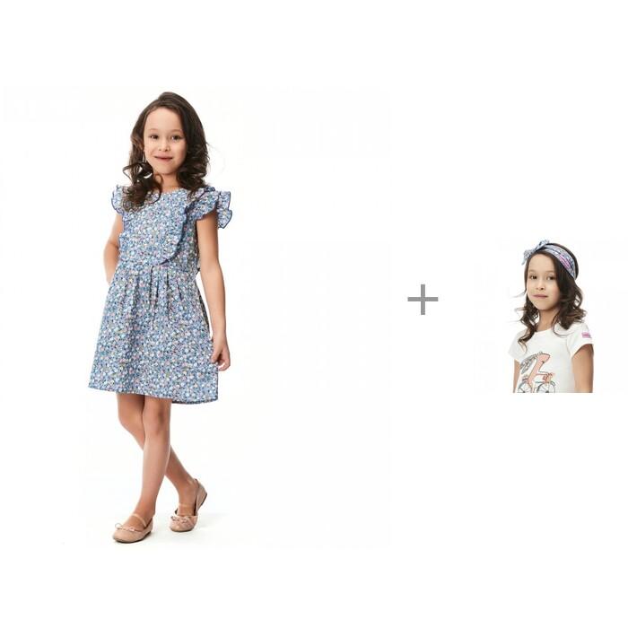 Lucky Child Платье 80-62 и бандана 80-93 для девочки Мечты исполняются