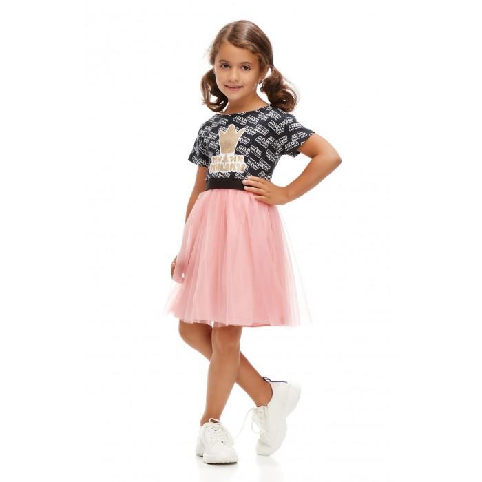 Платья и сарафаны Lucky Child Платье Ми-Ми-Мишки Логотипы