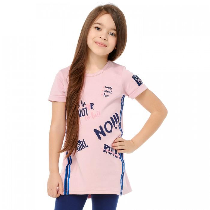 Lucky Child Платье-туника для девочки Скажи да 83-62 от Lucky Child