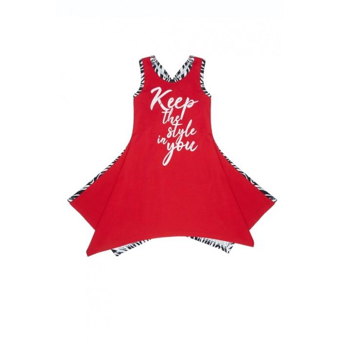 Lucky Child Платье Зебра 66-64к