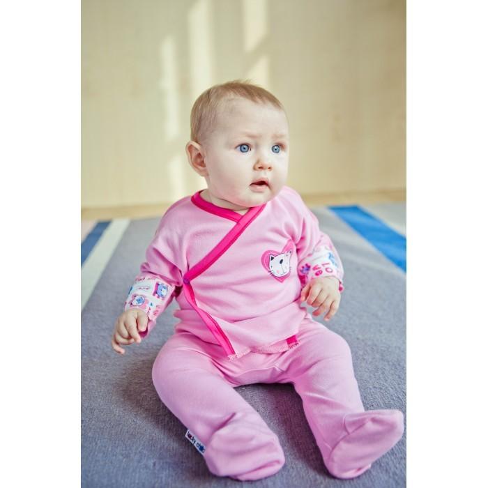 Ползунки Lucky Child Ползунки Love А6-104 пижамы lucky child пижама