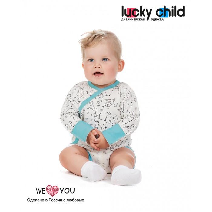 Lucky Child Распашонка Зоопарк 30-127 3 шт. Распашонка Зоопарк 30-127 3 шт.