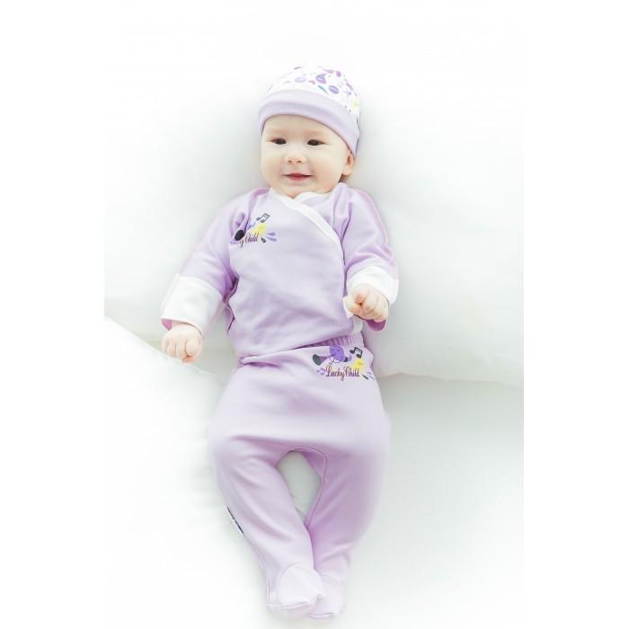 Распашонки и кофточки Lucky Child Распашонка Веселые нотки А12-107 пижамы lucky child пижама