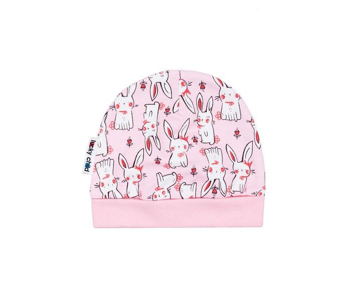 Шапки, варежки и шарфы Lucky Child Шапка Милые кролики А4-109/цв