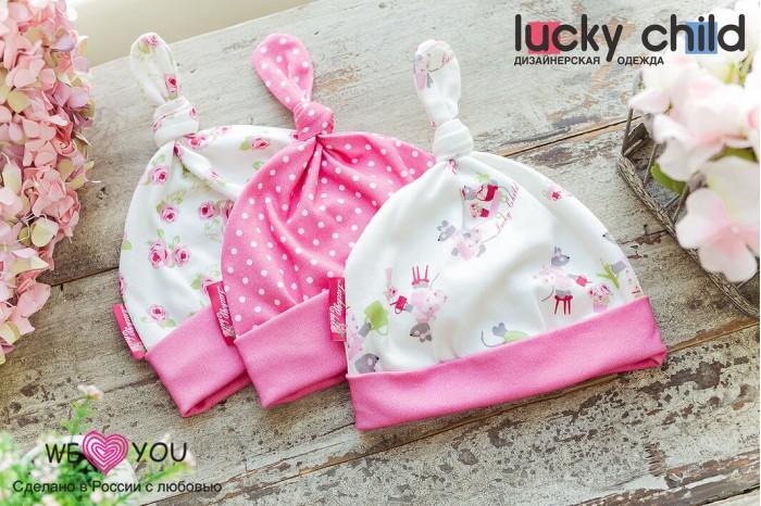 Lucky Child Шапка для девочки Маленькая садовница 3 шт. Шапка для девочки Маленькая садовница 3 шт.