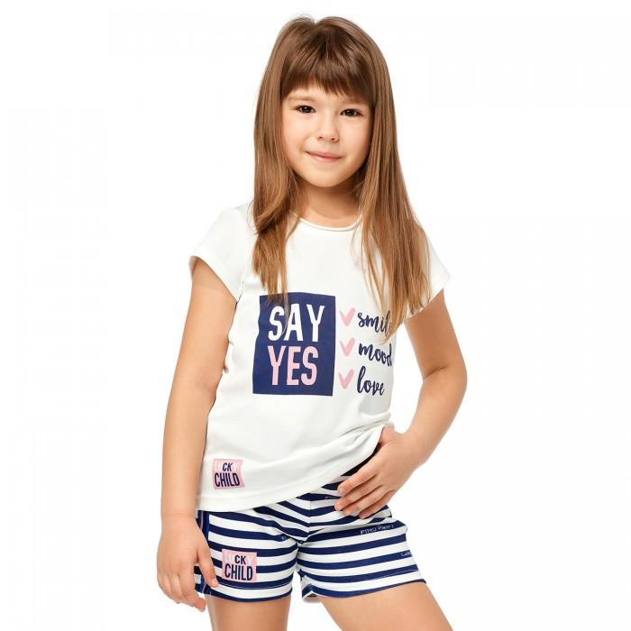 Lucky Child Шорты для девочки Скажи да Полоска 83-34