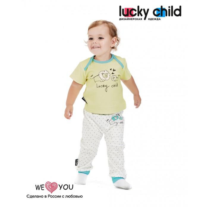 штанишки и шорты чудо чадо штанишки горные мишки ган26 Штанишки и шорты Lucky Child Штанишки Зоопарк 30-129 3 шт.