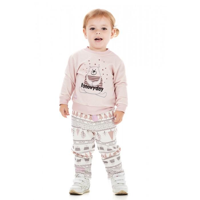 Купить Брюки и джинсы, Lucky Child Штанишки для девочек Зимние каникулы 62-11ф