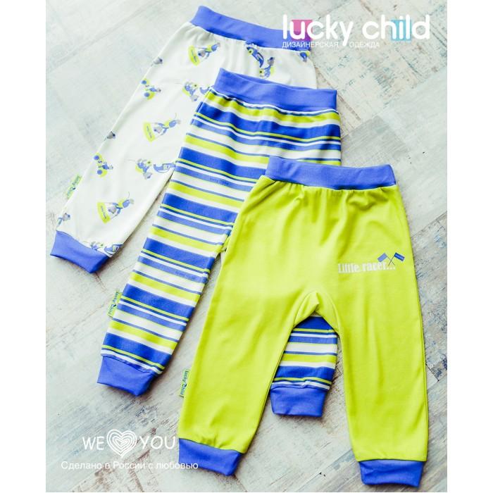 Штанишки и шорты Lucky Child Штанишки для мальчика Маленький Гонщик 3 шт.