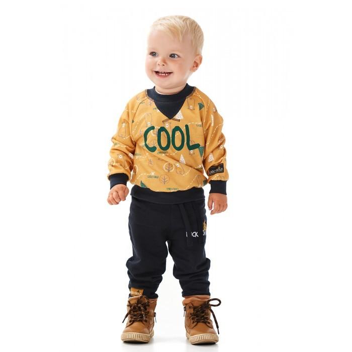 брюки  джинсы и штанишки Брюки и джинсы Lucky Child Штанишки для мальчика Зимние каникулы 63-11ф