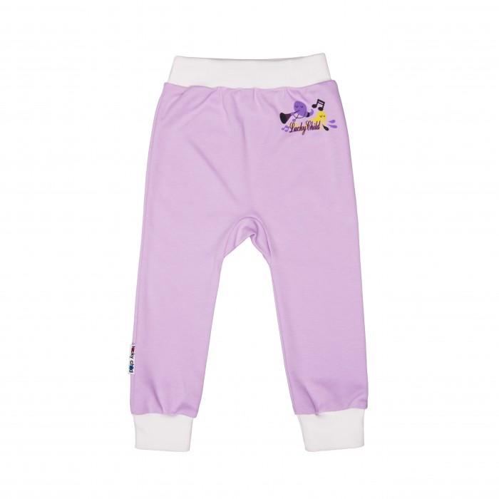 Брюки, джинсы и штанишки Lucky Child Штанишки Веселые нотки А12-111 брюки котмаркот штанишки звездное небо
