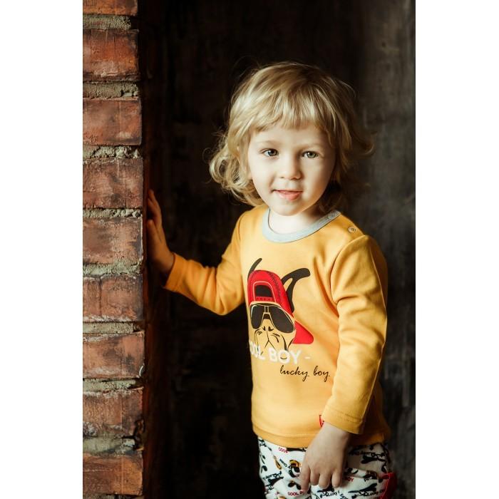 Lucky Child Свитшот для мальчика принт Крутой парень Cool boy