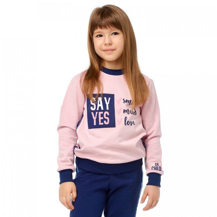Купить Толстовки и свитшоты, Lucky Child Толстовка для девочки Скажи да 83-16