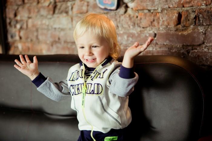 Lucky Child Толстовка для мальчика Basic sport 36-18пф фото