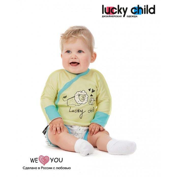 Белье и колготки Lucky Child Трусики Зоопарк 30-125 3 шт. трусики unik 3 шт