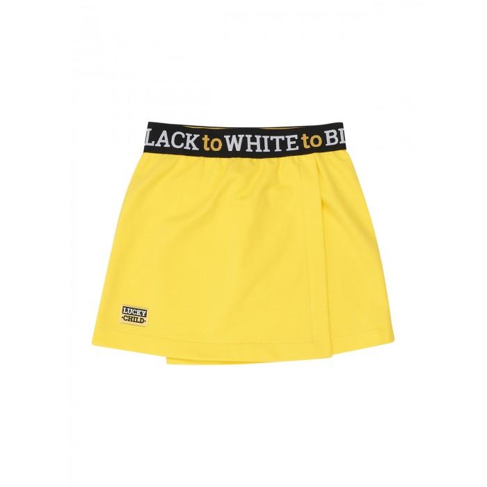 Lucky Child Юбка для девочки Черное и белое 107-35ф