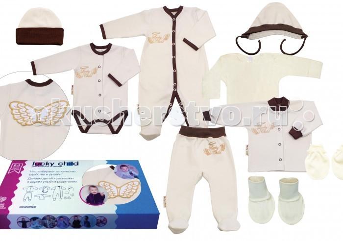 Комплекты детской одежды Lucky Child Комплект одежды Ангелочки 9 предметов hays комплект одежды