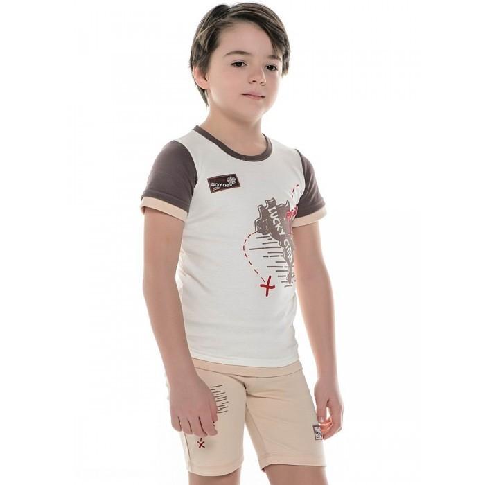 Футболки и топы Lucky Child Футболка Дальние берега 22-261 футболка tintin lucky