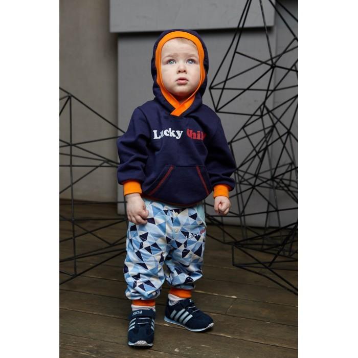 Фото Толстовки, свитшоты, худи Lucky Child Кофточка с капюшоном футер Умка 32-33ф
