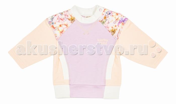 Толстовки, свитшоты, худи Lucky Child Кофточка Тропический рай 26-33ф пижамы lucky child пижама