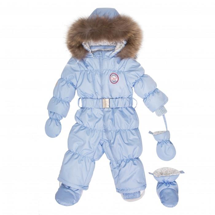 Lucky Child Комбинезон детский В1-3Комбинезон детский В1-3Lucky Child Комбинезон детский В1-3  Этой зимой Вашему малышу предстоит впервые увидеть снег? Подберите для этого важного знакомства удобный и тёплый комбинезон Lucky Child!   Он выполнен из курточной ткани с влагостойкой пропиткой, а значит, не промокнет, даже если Ваша кроха, знакомясь со снегом, решит нырнуть в сугроб.   Наполнитель – лёгкий и тёплый Isosoft, который позволит ребёнку не мёрзнуть при температуре до -30° и при этом вести активную деятельность во время прогулки.   Трикотажная подкладка (кулирка) обладает воздухопроницаемыми и водоотводными свойствами, что очень важно, если малыш вспотеет.   Капюшон оторочен натуральным мехом енота. Ножки и ручки малыша утеплят отстёгивающиеся варежки и сапожки.   Состав: Утеплитель изософт 300 г, внутри подкладка - кулирка-хлопок 100%, мех натуральный енот, верхняя ткань полиэстер 100%  Ручная стирка при 30 градусах/не отбеливать/не отжимать, сушить в вертикальном положении<br>