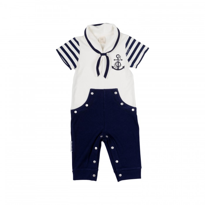 Комбинезоны и полукомбинезоны Lucky Child Комбинезон для мальчика Лазурный берег 28-1М пижамы lucky child пижама