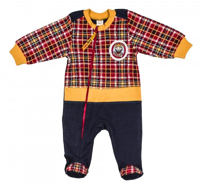 Комбинезоны и полукомбинезоны Lucky Child Комбинезон Мужички 27-13ф пижамы lucky child пижама