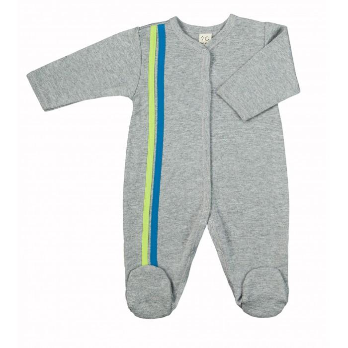 Комбинезоны и полукомбинезоны Lucky Child Комбинезон с лампасами из футера пижамы lucky child пижама