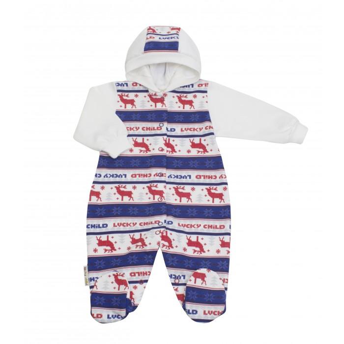 Комбинезоны и полукомбинезоны Lucky Child Комбинезон Скандинавия 10-3ф пижамы lucky child пижама