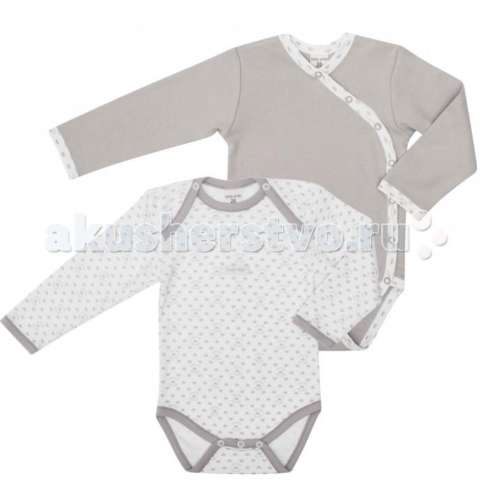 Детская одежда , Боди и песочники Lucky Child Комплект боди длинный рукав 2 шт. 33-5Д арт: 238573 -  Боди и песочники
