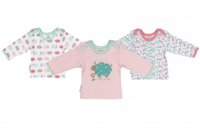 Детская одежда , Распашонки и кофточки Lucky Child Комплект детский Кофточка 3 шт. Овечки арт: 207069 -  Распашонки и кофточки