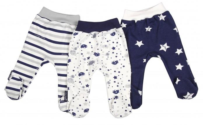 Ползунки Lucky Child Комплект детский Ползунки 3 шт. Котики пижамы lucky child пижама