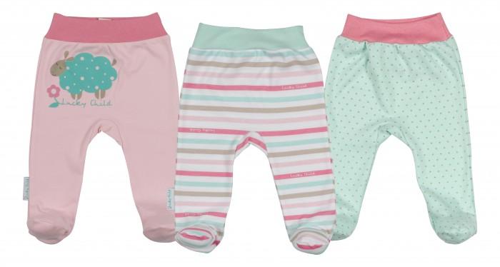 Детская одежда , Ползунки Lucky Child Комплект детский Ползунки 3 шт. Овечки арт: 207621 -  Ползунки