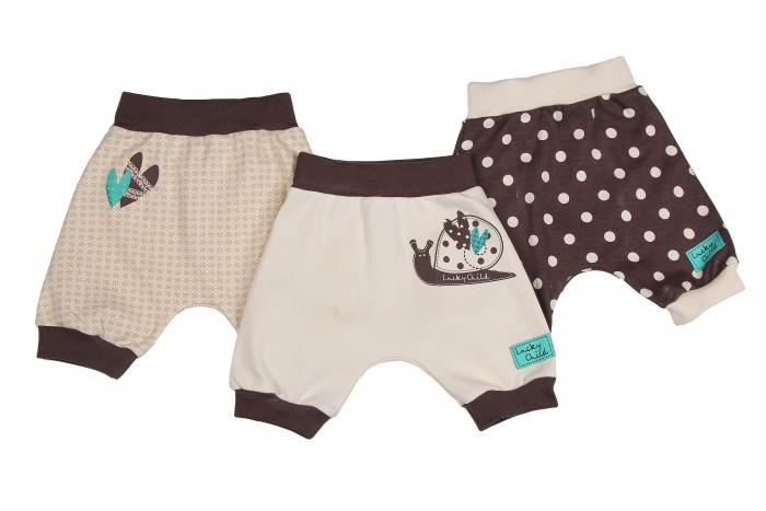 Шорты и бриджи Lucky Child Комплект детский Шорты 3 шт. Улитки пижамы lucky child пижама