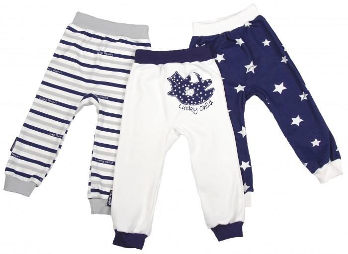 Брюки, джинсы и штанишки Lucky Child Комплект детский Штанишки 3 шт. Котики пижамы lucky child пижама